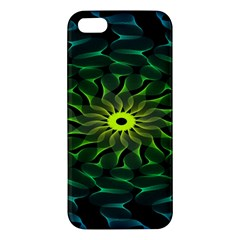 Abstract Ribbon Green Blue Hues Iphone 5s/ Se Premium Hardshell Case