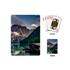 Italy Mountains Pragser Wildsee Playing Cards (mini)