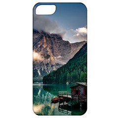 Italy Mountains Pragser Wildsee Apple Iphone 5 Classic Hardshell Case by Simbadda