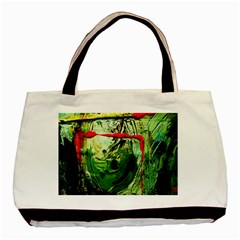 Continental Breakfast 6 Basic Tote Bag (two Sides) by bestdesignintheworld