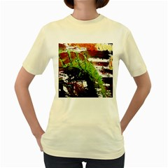 Collosium   Swards And Helmets 3 Women s Yellow T Shirt
