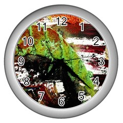 Collosium   Swards And Helmets 3 Wall Clocks (silver)  by bestdesignintheworld