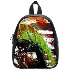 Collosium   Swards And Helmets 3 School Bag (small) by bestdesignintheworld