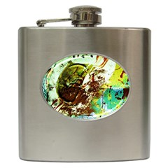 Doves Matchmaking 8 Hip Flask (6 Oz) by bestdesignintheworld