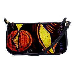 Cryptography Of The Planet Shoulder Clutch Bags by bestdesignintheworld