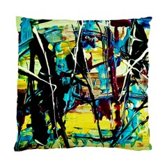 Dance Of Oil Towers 3 Standard Cushion Case (two Sides) by bestdesignintheworld