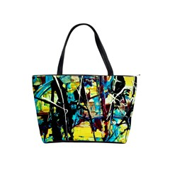 Dance Of Oil Towers 3 Shoulder Handbags by bestdesignintheworld