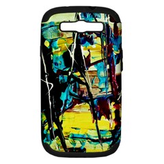 Dance Of Oil Towers 3 Samsung Galaxy S Iii Hardshell Case (pc+silicone) by bestdesignintheworld
