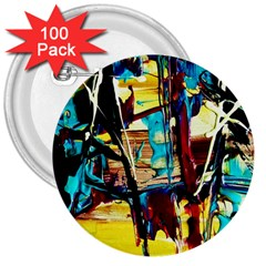 Dance Of Oil Towers 4 3  Buttons (100 Pack)  by bestdesignintheworld