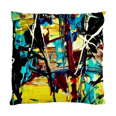 Dance Of Oil Towers 4 Standard Cushion Case (two Sides) by bestdesignintheworld