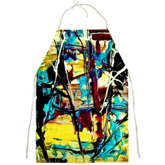 Dance Of Oil Towers 4 Full Print Aprons by bestdesignintheworld