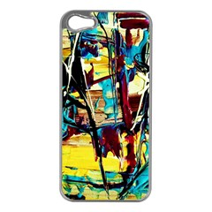 Dance Of Oil Towers 4 Apple Iphone 5 Case (silver) by bestdesignintheworld