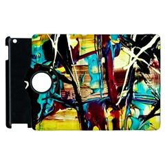 Dance Of Oil Towers 4 Apple Ipad 2 Flip 360 Case by bestdesignintheworld