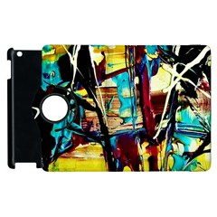 Dance Of Oil Towers 4 Apple Ipad 3/4 Flip 360 Case by bestdesignintheworld
