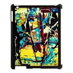 Dance Of Oil Towers 4 Apple Ipad 3/4 Case (black) by bestdesignintheworld