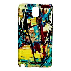 Dance Of Oil Towers 4 Samsung Galaxy Note 3 N9005 Hardshell Case by bestdesignintheworld