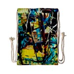 Dance Of Oil Towers 4 Drawstring Bag (Small) Back