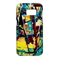 Dance Of Oil Towers 4 Samsung Galaxy S7 Hardshell Case  by bestdesignintheworld