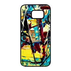 Dance Of Oil Towers 4 Samsung Galaxy S7 Edge Black Seamless Case by bestdesignintheworld
