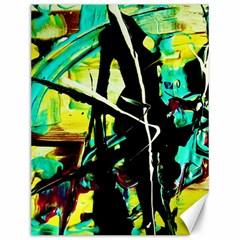 Dance Of Oil Towers 5 Canvas 12  X 16   by bestdesignintheworld