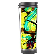 Dance Of Oil Towers 5 Travel Tumbler by bestdesignintheworld