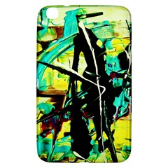 Dance Of Oil Towers 5 Samsung Galaxy Tab 3 (8 ) T3100 Hardshell Case  by bestdesignintheworld