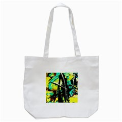 Dance Of Oil Towers 5 Tote Bag (white) by bestdesignintheworld
