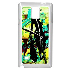 Dance Of Oil Towers 5 Samsung Galaxy Note 4 Case (white) by bestdesignintheworld
