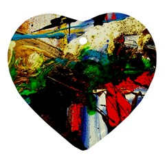 Catalina Island Not So Far 6 Heart Ornament (two Sides) by bestdesignintheworld