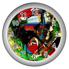 Catalina Island Not So Far 7 Wall Clocks (silver)  by bestdesignintheworld