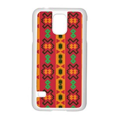 Tribal Shapes In Retro Colors                           Motorola Moto G (1st Generation) Hardshell Case by LalyLauraFLM