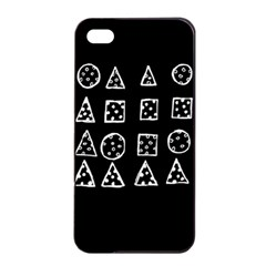 Drawing  Apple Iphone 4/4s Seamless Case (black) by ValentinaDesign