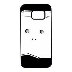 Drawing  Samsung Galaxy S7 Black Seamless Case by ValentinaDesign