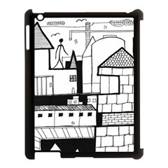 Drawing  Apple Ipad 3/4 Case (black) by ValentinaDesign