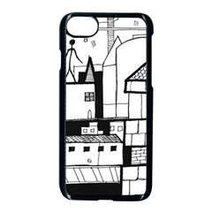 Drawing  Apple Iphone 8 Seamless Case (black) by ValentinaDesign