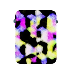 Watercolors Shapes On A Black Background                            Sony Xperia Zl (l35h) Hardshell Case by LalyLauraFLM