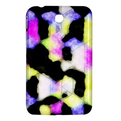 Watercolors Shapes On A Black Background                            Nokia Lumia 925 Hardshell Case by LalyLauraFLM