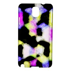 Watercolors Shapes On A Black Background                            Nokia Lumia 928 Hardshell Case by LalyLauraFLM