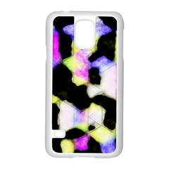 Watercolors Shapes On A Black Background                            Motorola Moto G (1st Generation) Hardshell Case by LalyLauraFLM