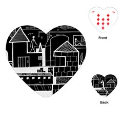 Drawing  Playing Cards (heart)  by ValentinaDesign