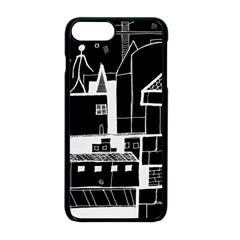 Drawing  Apple Iphone 8 Plus Seamless Case (black) by ValentinaDesign