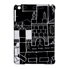 Drawing  Apple Ipad Mini Hardshell Case (compatible With Smart Cover) by ValentinaDesign