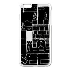 Drawing  Apple Iphone 6 Plus/6s Plus Enamel White Case by ValentinaDesign