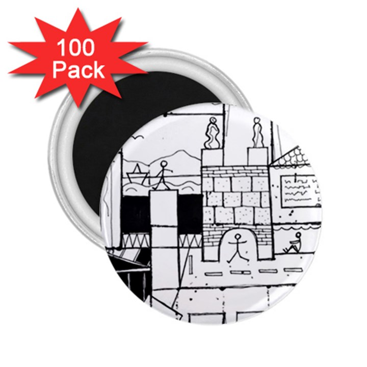 Drawing  2.25  Magnets (100 pack)