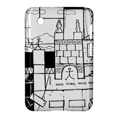 Drawing  Samsung Galaxy Tab 2 (7 ) P3100 Hardshell Case  by ValentinaDesign