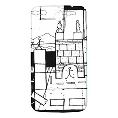 Drawing  Samsung Galaxy Mega I9200 Hardshell Back Case