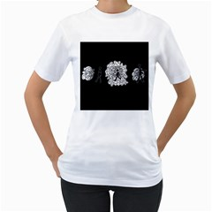 Drawing  Women s T Shirt (white) (two Sided)