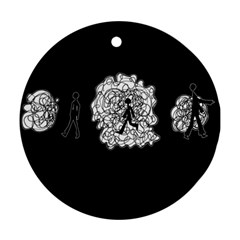 Drawing  Round Ornament (two Sides)
