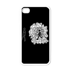 Drawing  Apple Iphone 4 Case (white)