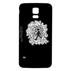 Drawing  Samsung Galaxy S5 Back Case (white)